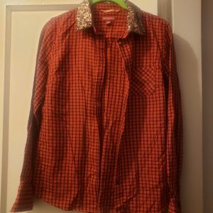 Merona checkered shirt